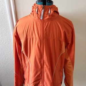 Columbia XCO Womens Orange Vented Full Zip Jacket